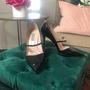 Sarah Jessica Parker - black patent Mary Janes
